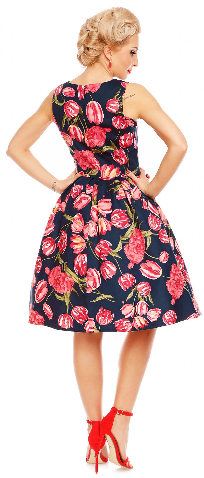 Retro šaty Tulip ab50c2a3a0