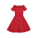 Dívčí retro šaty