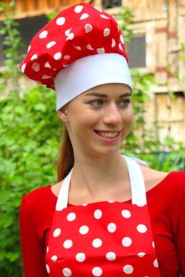 Kuchařská čepice Retro