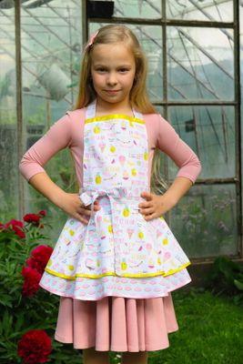 Dívčí kuchyňská zástěra Summer
