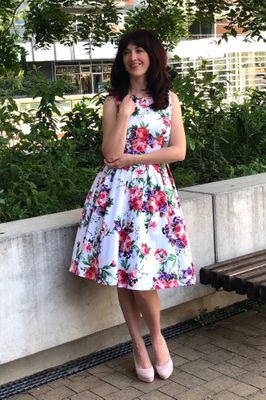 1719e7783e42 Vintage šaty - Chic lovely retro móda